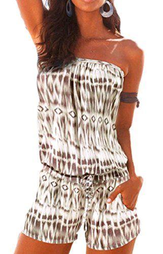 Winwinus Women High Waisted Lounge Jumpsuit Spaghetti Strap Sleeveless Rompers