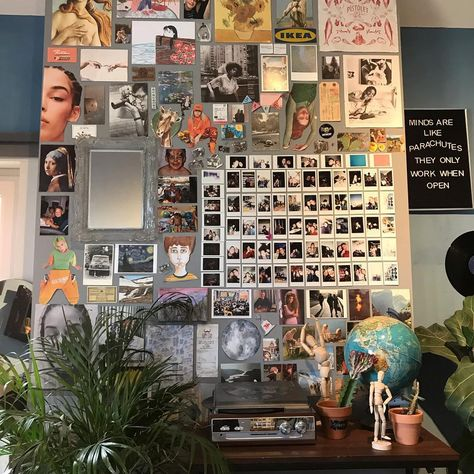 """@brentsjournal on Instagram: """"another pic of my wall lol, kinda in the mood for an art night"""""""