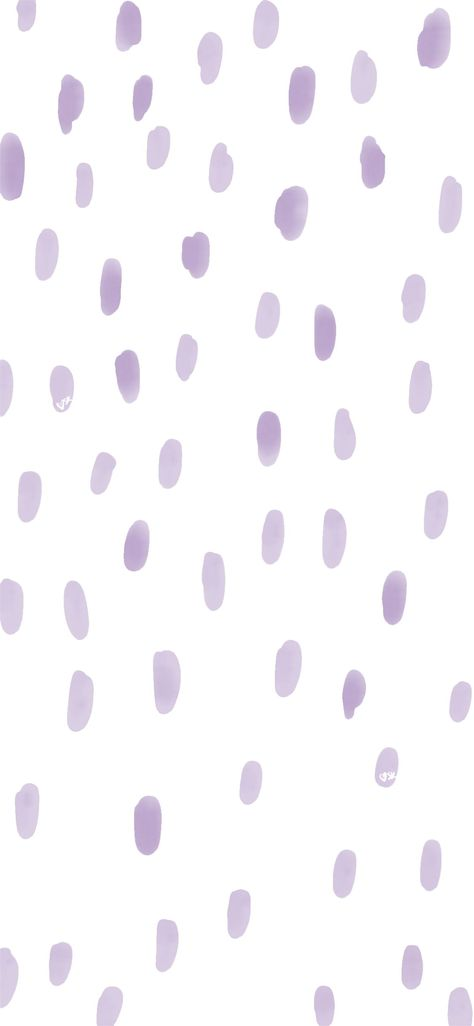 @create.sarah.kate purple dots wallpaper