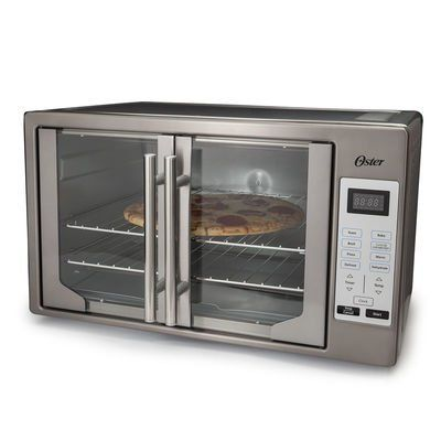 Black Stainless Collection Digital French Door Oven With