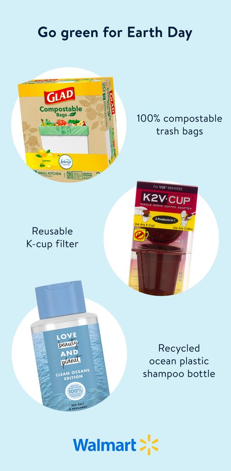 Try these sustainable, less-waste products just in time for Earth Day
