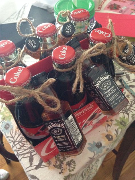 Jack and Coke--I want this for my birthday. For real.