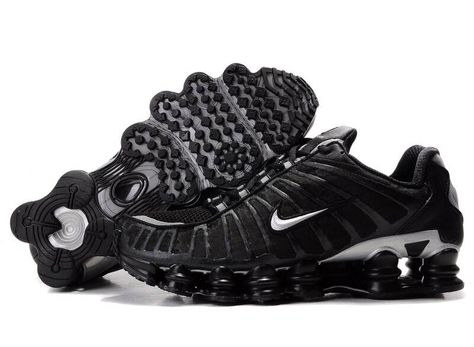 NIKE SHOX | Nike Shox TL1 Mens Shoes Black Silver | on my