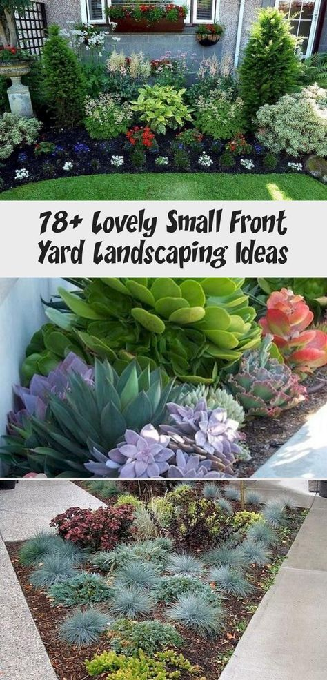 78 Lovely Small Front Yard Landscaping Ideas Architecture