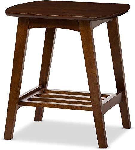 Enjoy Exclusive For Baxton Studio Sacramento Mid Century Modern Scandinavian Style End Table Dark Walnut Online Greattopfurniture In 2020 Walnut Furniture Living Room End Tables Mid Century Modern Furniture Stores