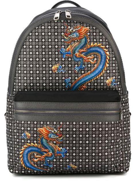 Shop Dolce & Gabbana 'Vulcano' backpack in Luisa Boutique