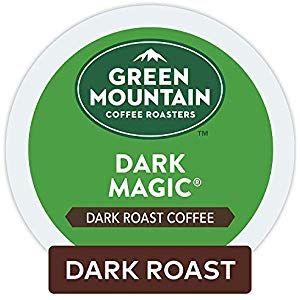 Green Mountain Coffee Roasters Dark Magic Keurig Single Serve K Cup Pods Dark Roast Coffee 48 Count Groc Green Mountain Coffee Mountain Coffee Coffee Roasters