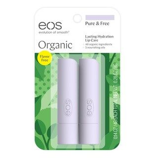 Eos 2 Pk Organic Pure Free Lip Balm Kohls Organic Lip Balm Free Lip Balm Lip Balm Stick