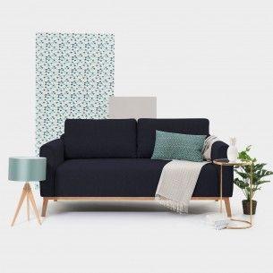 Milton 3 Sitzer Dunkelblau Design Shop Mobelstuck Dunkelgrau