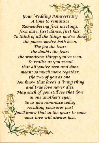 50th Anniversary Quotes Wedding Wishes Golden Anniversar Pinterest Verses And