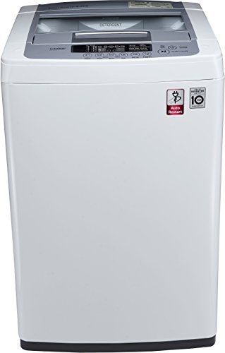 Lg 6 2 Kg Fully Automatic Top Loading Washing Machine T7269nddl Blue And White Tv Home Appliances Washing Machines Lavadora De Ropa Ropa