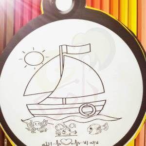أوراق عمل إسلامي ة للأطفال رياض الجنة Decorative Plates Decor Home Decor