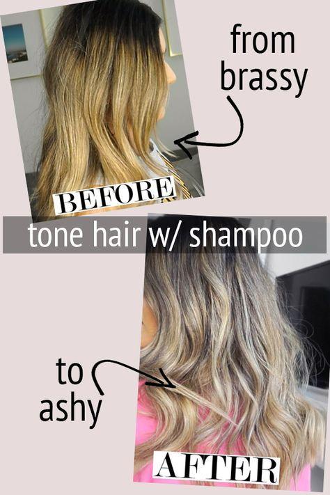 Brassy To Ashy With Images Brassy Hair Brassy Blonde Hair