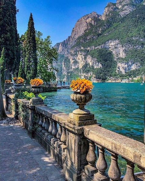 Planning a trip to Lake Garda, Italy and looking for inspiration? In this post find the best towns in Lake Garda, great places to visit in Lake Garda Places To Travel, Places To See, Travel Destinations, Wonderful Places, Beautiful Places, Beautiful Pictures, Lake Garda Italy, Rest Of The World, Travel Aesthetic