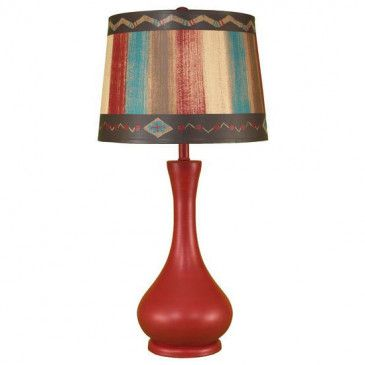Painted Clay Desert Lamp Table Lamp Bottle Table Lamps Lamp