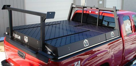 Cool Truck Bed Cover Truck Tool Box Custom Trucks Truck Tools