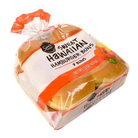 Sam S Choice Hawaiian Hamburger Buns 15 Oz 8 Count Walmart Com Hamburger Buns Satisfying Food Filling Recipes