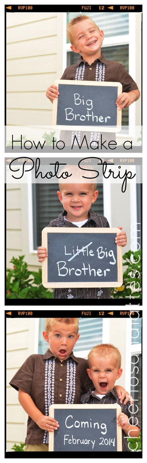 How to Make a Photo Strip