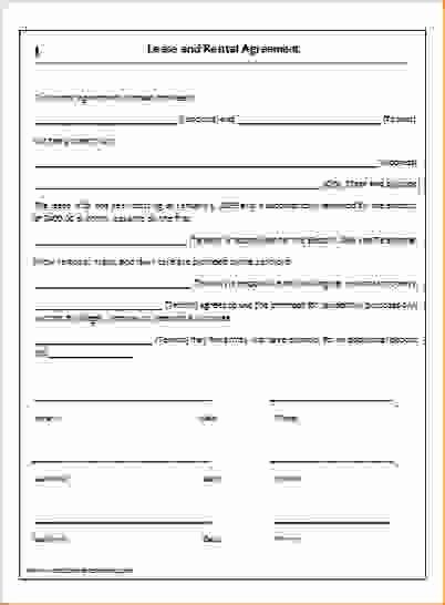 One Page Rental Agreement Luxury Simple E Page Lease Agreement Lease Agreement Being A Landlord Rental Agreement Templates