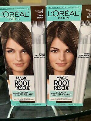 Ad L Oreal Paris Root Rescue 10 Minute Root Coloring Kit Dark