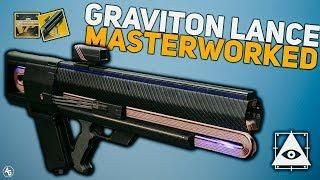 Graviton Lance Masterworked | Destiny 2 Exotic Catalyst Review