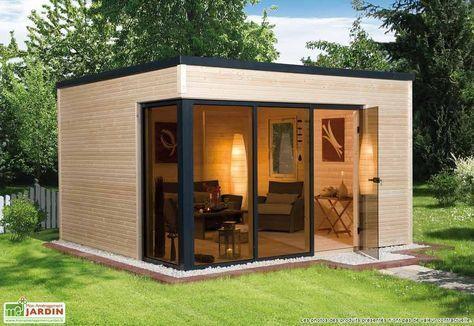 Abri de jardin en bois habitable. Pas de besoin de permis de ...