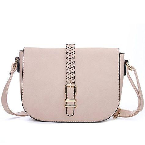 30dd9420c186 Catmicoo Casual Small Crossbody Saddle Bags for Women Shoulder Purse  Designer Handbags