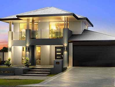 The Panorama Provincial Storey Homes House Front Design Facade House