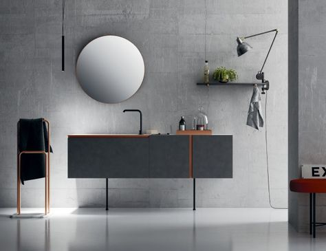 Altamarea nella vetrina high end italian bathroom vanity in