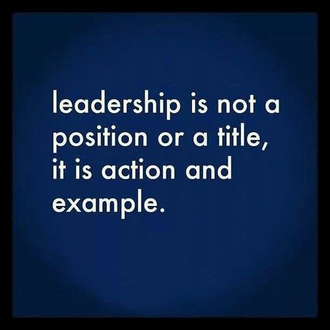 If students learn only one lesson from Discover Leadership, I hope it is this!