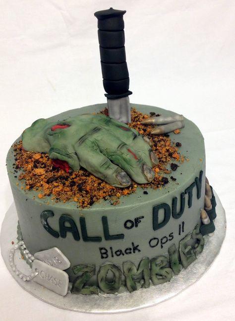 Stuff By Stace: XBOX Call of Duty Modern Warfare 3 Cake
