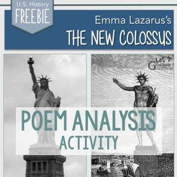 Emma Lazarus The New Colossus Statue Of Liberty Poetry