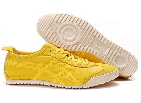 asics onitsuka tiger mexico 66 black yellow zapatillas running