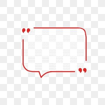 Red Cute Comics With Speech Bubbles Png And Psd Seni