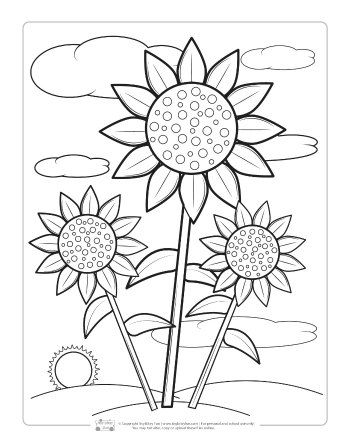 Fall Coloring Pages For Kids Itsybitsyfun Com Fall Coloring Pages Sunflower Coloring Pages Spring Coloring Pages