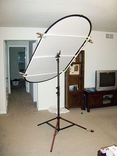 How to Make a DIY Light Panel or Scrim photografia t