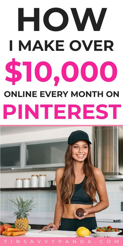 Side Hustle Ideas To Make Money From Home And On Pinterest
