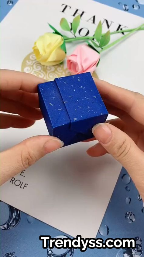 DIY - Paper Rose Ring