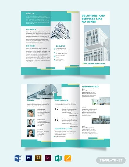 Subdivision Tri Fold Brochure Template Word Doc Psd Indesign Apple Mac Pages Illustrator Publisher Trifold Brochure Trifold Brochure Template Brochure Template