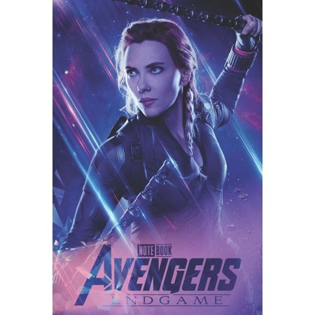 End Game: Avengers : END Game - Notebook: Organize Notes, Ideas, Follow Up, Project Management, 6 inch x 9 inch (15.24 x 22.86 cm) - 110 Pages - Durable Soft Cover - Line (Series #12) (Paperback) Size: 6 inch