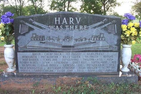 Harv had a great life.