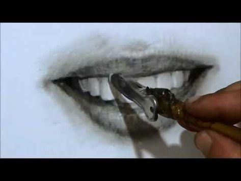 การวาดปากและฟ นด วยส ฝ น Youtube
