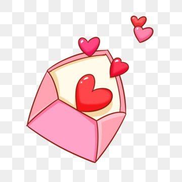 핑크 편지 연애 편지 일러스트 연애 편지 빨간 사랑 편지 클립 아트 붉은 심장 사랑무료 다운로드를위한 Png 및 Psd 파일 연애편지 어린이집 만들기 편지