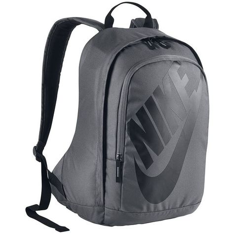 b7896604da24 Nike Hayward Futura 15-inch Laptop Backpack (Grey) ( 55) ❤ liked on Polyvore  featuring bags