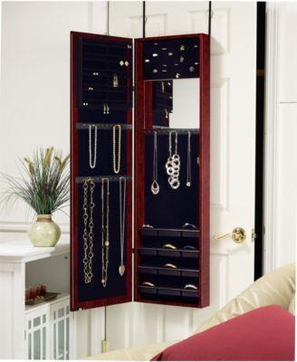 Wall Mounted Jewelry Storage