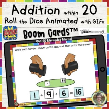 Pin By Synthesizing With Susan On My Tpt Store And Much More Elementary Resources Boom Cards Math Centers