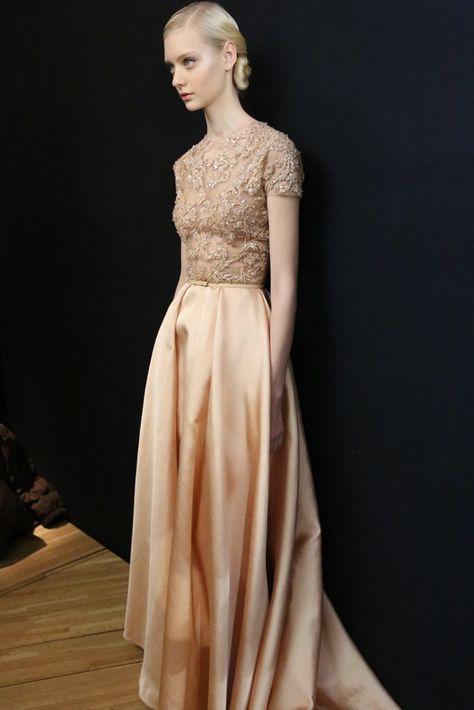 Backstage at Elie Saab Spring Couture 2013
