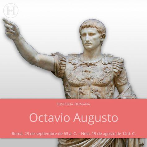 Cesar Augusto 63 14 77 Octavio Octaviano Augusto