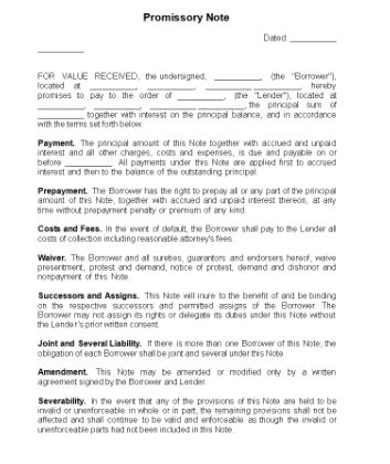Promissory Note Checklist Template In 2020 Promissory Note Checklist Template Marketing Checklist