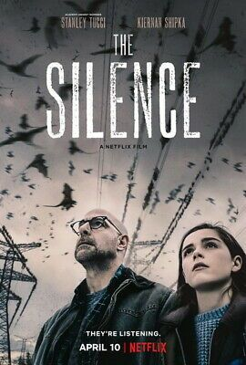 002 The Silence 2019 Horror Thriller Usa Movie 14 X20 Poster